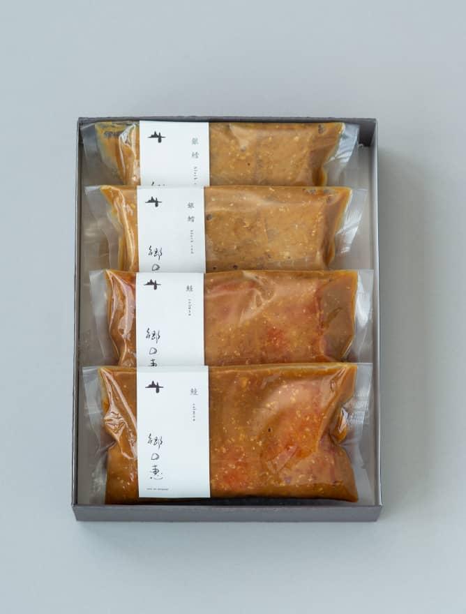 銀鮭&銀だら 味噌漬け 4パックセット